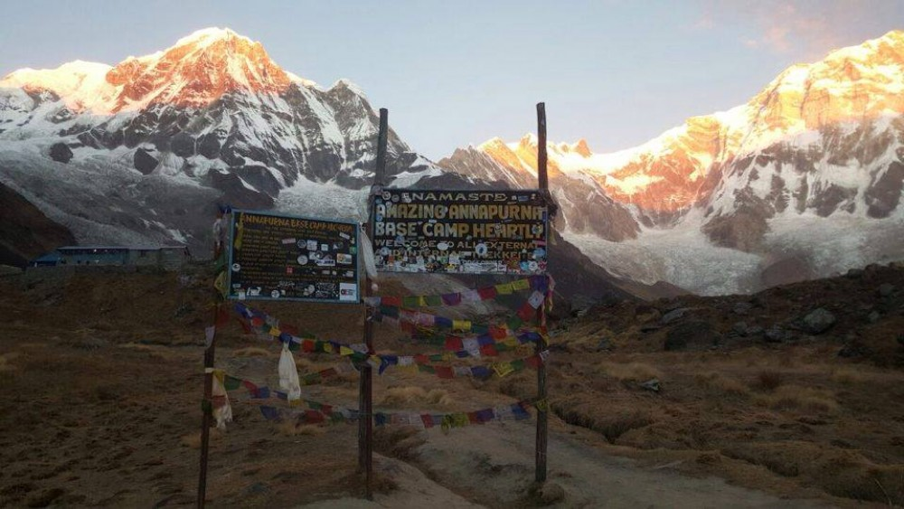 Annapurna Base Camp Budget trek is one of the most popular trekking routes in Annapurna with the heights of 4200m. In Annapurna Base Camp one can view the magnificent and breathtaking view of Annapurna Range.