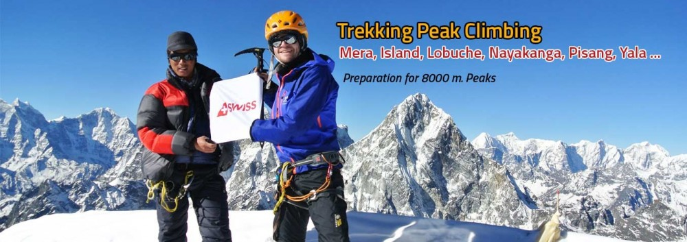 sland Peak climbing is one of the famous trekking trails in Nepal and is also known as Imja Tse Peak. Island Peak (6189M) refers to an Island in the sea of ice of Himalayas of Khumbu region.